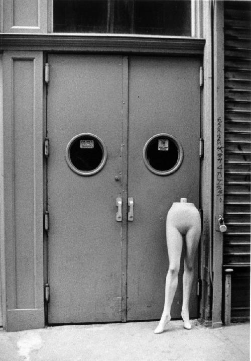 Door and Mannequin Legs by Denis Sivack