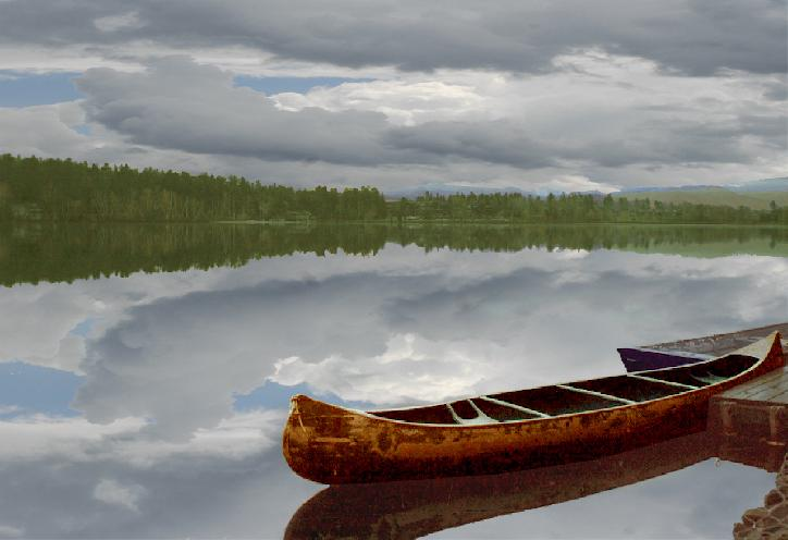Rustic Canoe by Anthony Cosentino