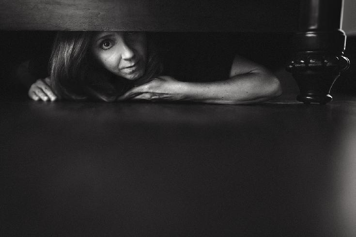 The Monster Under the Bed is Me by Holly Thompson