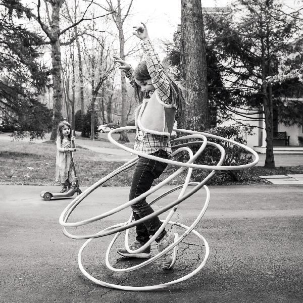 Hula Hoop Queen by Natalie Fay Green