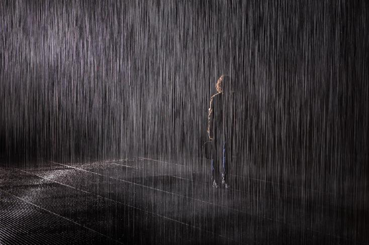 Rain Room by JP Terlizzi