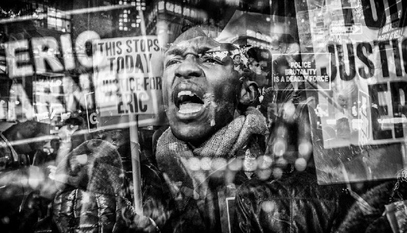 Protest #BlackLivesMatter by Russ Rowland