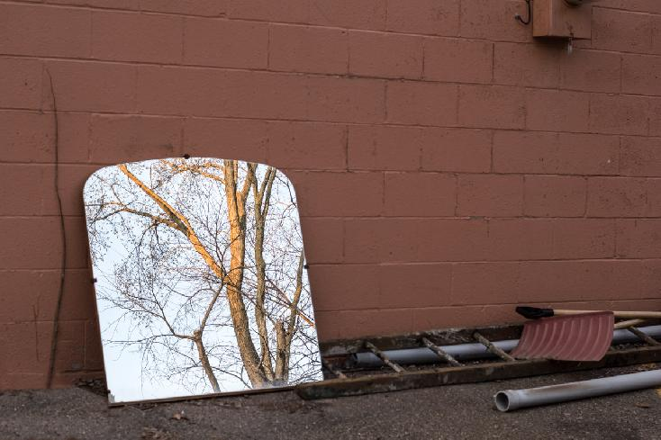 Alley Reflections by Ben Davis