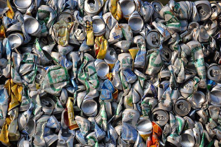 Aluminum Cans by Hsien-Chih Chuang