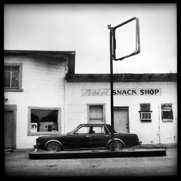 Midnight Snack Shop, Midnight, Mississippi by Betty Press