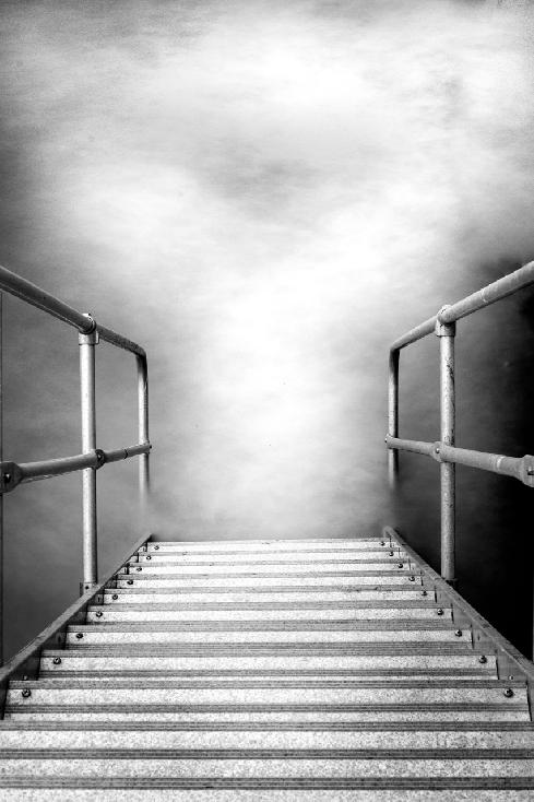 Necker Stairs by Alan Murray