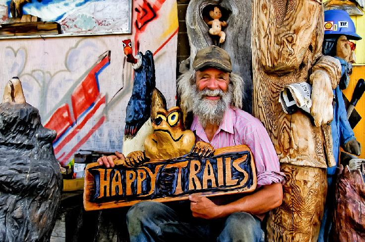 Dave Sipe Woodcarver by Nick Roberts