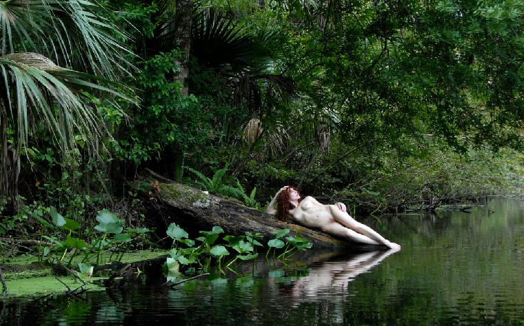 Peyton at Wekiwa Springs by Dave Levingston