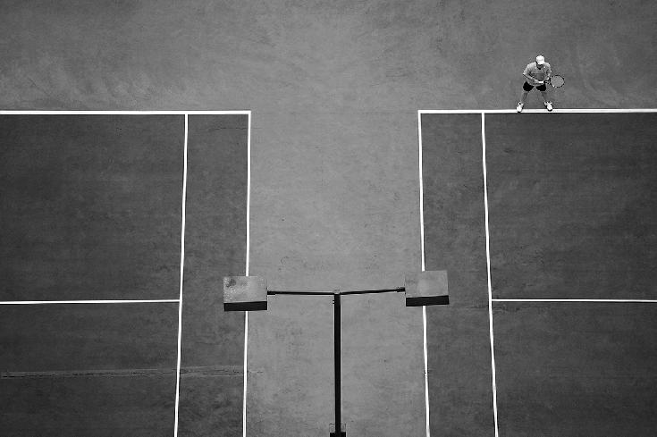 Geometry of Tennis by Jolanta Mazur