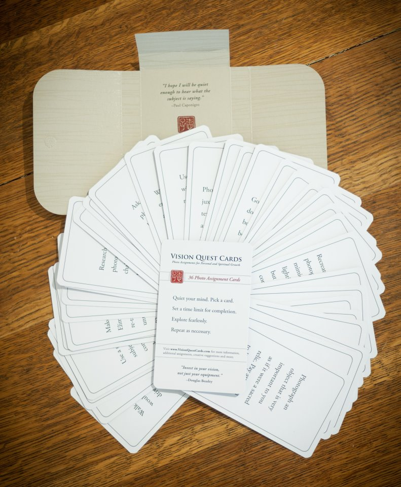 Juror's Choice to receive a set of Douglas Beasley's Vision Quest Assignment Cards