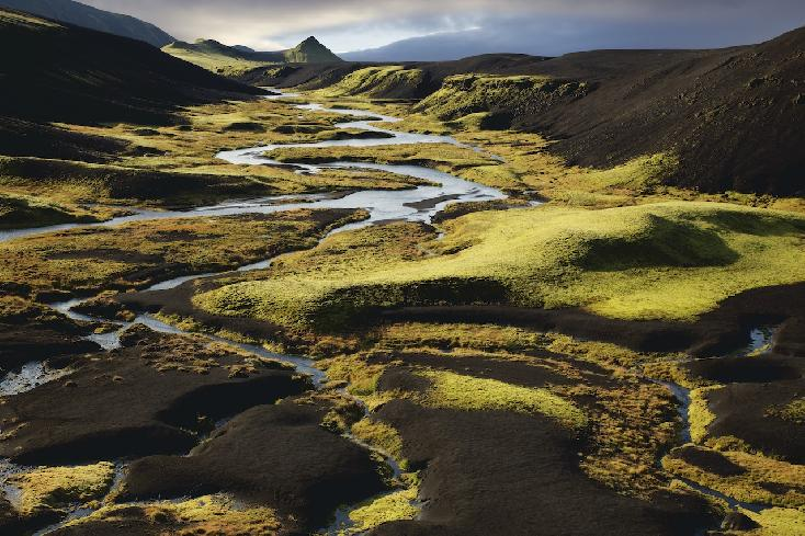Landscape no. 21 (Iceland) by Thomas Pickarski