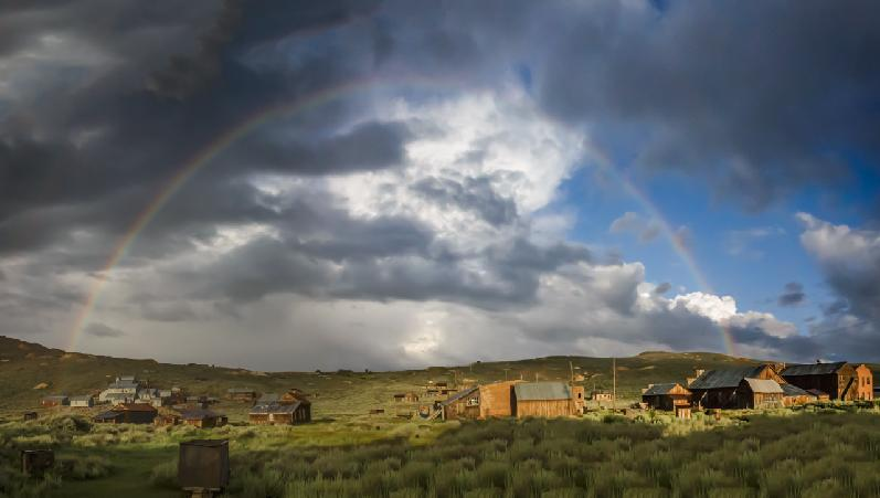 Bodie Ghost Town by Mitch Johnson