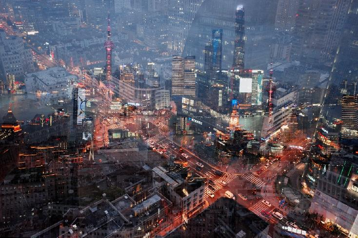 Evening in Shanghai by Ilya Trofimenko